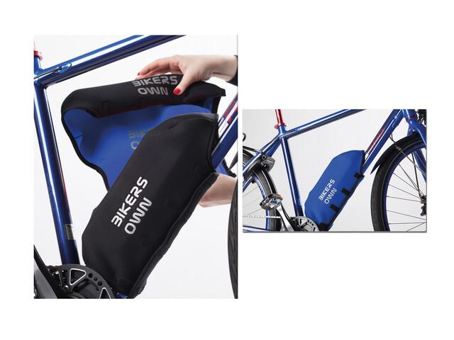 BIKERSOWN stelbatteribeskytter Beskyttelse til Yamaha blå/sort